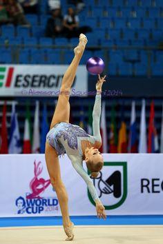 Kudryavtseva ball leotard Pesaro 2014
