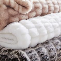 Our Faux Fur Cascade Throw provides all the warmth and texture of fur, yet it's entirely animal friendly. Fluffy Blankets, Cute Blankets, Throw Blankets, Fur Bed Throw, Room Ideas Bedroom, Girls Bedroom, Bedroom Decor, Bedroom Ideas For Small Rooms Cozy, Bedrooms