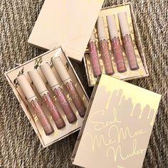 DISPONIBLE LA ÚLTIMA EDICIÓN  #KylieCOSMETICS ¡SEND ME MORE NUDES!  Te ofrecemos la edición de 4 labiales Mate (efecto seco de larga duración) y la edición de 4 labiales gloss (efecto brillo)  Réplica AAA (idénticas a la foto)  #makeup #instamakeup #cosmetic #cosmetics #TagsPorMeGustas #loveit #fashion #ventascostarica #lipstick #gloss #mascara #palettes #eyeliner #maquillajecostarica #lips #concealer #foundation #powder #eyes #eyebrows #lashes #lash #glitter #primers #base #beauty…
