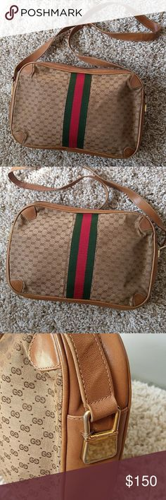 d0b6bbd3c3607 Vintage Gucci Beautifully repaired authentic vintage Gucci. See all pics  please. Strap was repaired