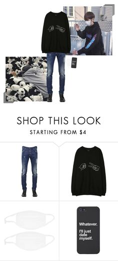 """""""Jaesung    Cinema with Hyeon"""" by onyxofficial ❤ liked on Polyvore featuring Dsquared2"""