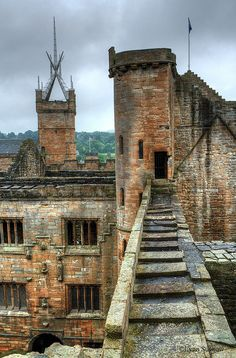 Linlithgow Palace, Scotland: The building of this magnificent palace, begun by James I in 1425, continued for over a century and it became a favourite royal residence – James V was born here in 1512, as was his daughter Mary (later Queen of Scots) in 1542, and Bonnie Prince Charlie visited briefly in 1745...  Read more: http://www.lonelyplanet.com/united-kingdom/scotland/west-lothian/linlithgow/sights/architecture/linlithgow-palace#ixzz3do4xxleG
