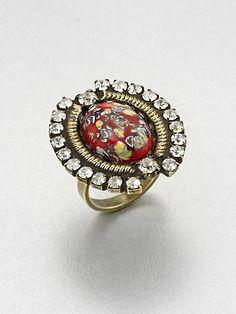DANNIJO  Mottled Ring $150.00