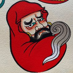 Daruma by Caio Pineiro Japanese Tattoo Designs, Japanese Design, Daruma Doll Tattoo, Koi, Tattoo Flash Sheet, Samurai, Mythology Tattoos, Japanese Monster, Asian Tattoos
