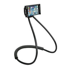 Lazy Neck Phone Holder Stand for iPhone Universal Cell Phone Samsung Xiaomi Samsung, Hotel New York, Selfies, Iphone, Lazy, Support Telephone, Mobile Holder, Tablet, Autos