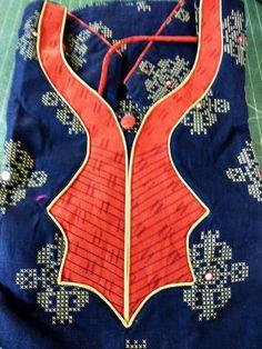 Chudithar Neck Designs, Salwar Neck Designs, Neck Designs For Suits, Kurta Neck Design, Blouse Designs Silk, Blouse Neck Designs, Sleeve Designs, Simple Kurti Designs, Girls Blue Dress