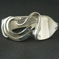 Upcycled Eco Friendly Antique Silverware Jewelry Fork Bracelet on Etsy, $32.10 CAD