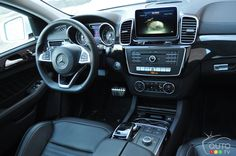 The #interior of the 2016 #Mercedes-Benz #GLE 350 d #Coupe