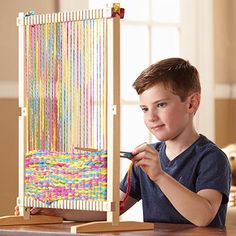 Amazon.com: Melissa & Doug Wooden Multi-Craft Weaving Loom: Extra-Large Frame (22.75 x 16.5 inches): Melissa & Doug: Toys & Games