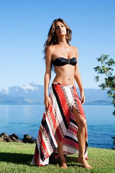9fae923986 ANGOLA JUNE LONG SKIRT  ViXPHermanny Vix Swimwear