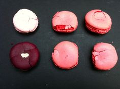 Macaron casualties from Paris via Jeralyn's suitcase.