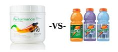 Healthy Clean and Green: Gatorade vs Shaklee Performance