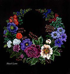 Floral Wreath .Hazel Lynn.