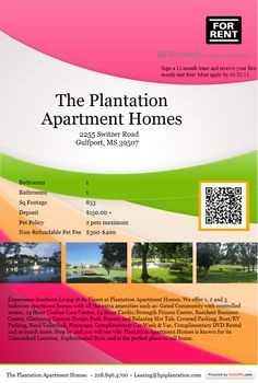 """""""Too Beautiful for Craigslist"""" #46   Powered by GoGoPin   Editor's Pick (Jan 25, 2013)    """"The Plantation Apartment Homes""""   (228) 896-4700"""