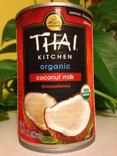 Thai Kitchen Coconut Cream $1.98 thai® kitchen unsweetened coconut milk 13.66 fl. oz. can