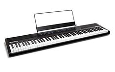 Alesis Recital 88-Key Beginner Digital Piano with Full-Size Semi-Weighted Keys (Amazon Exclusive) This is among the top selling products online in Musical Instruments category in UK. Click below to see its Availability and Price in YOUR country.