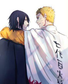 Adult Sasuke and Naruto