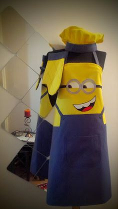 Sosyal Terzi Wood Badge, Ideas Hogar, Aprons, Fabric Crafts, Kids Outfits, Homer Simpson, Bugs Bunny, Crafty, Sewing
