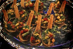 Edible spoons are fund and easy to handle - guests dont have to worry about holding into something once finished!
