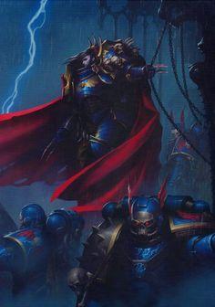 Marine Terminator Lord Caos Espacio bolter tormenta-Warhammer 40k