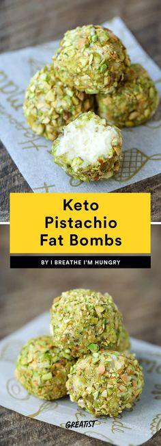 4. Keto Pistachio Fat Bombs #greatist https://greatist.com/eat/keto-fat-bomb-recipes