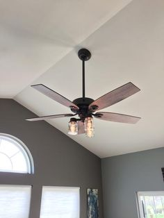 Maiden Bronze Ceiling Fan 28796
