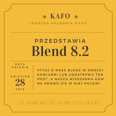 ... bo #kawa musi być palona tylko lokalnie.      #KAFO data palenia: 28 kwiecień 2018 (blend 8.2)