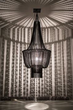 Ballroom Babe in Haarlem - chandelier made of recycled bicycle chains 170cm h | Ø73cm | 55kg www.lolopalazzo.com