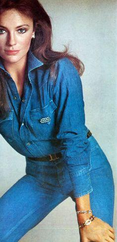 Makeup for Babe-Jacqueline Bisset by Avedon Vogue US 1973