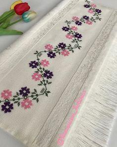 Small Cross Stitch, Cross Stitch Borders, Cross Stitch Flowers, Cross Stitch Patterns, Crewel Embroidery, Cross Stitch Embroidery, Bargello, Baby Knitting Patterns, Creations