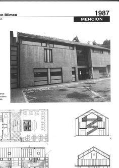 """* V Premio Asturias Arquitectura . Año 1987. Categoria.Mención. Centro social en Blimea. Información extraída de :""""Diez ediciones Premio Asturias de Arquitectura""""[catálogo exposición] .Colegio Oficial de Arquitectos de Asturias. 1994"""