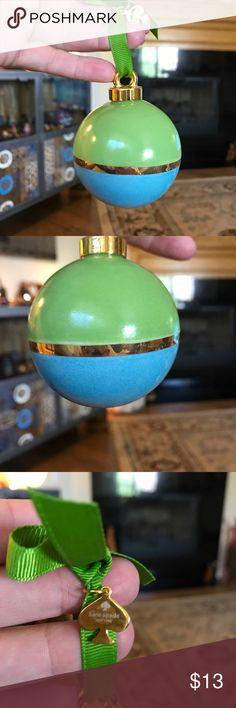 Kate Spade Lenox ornament in box. Kate Spade Lenox ornament in box. Never used. kate spade Other