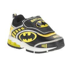 Batman Toddler Boys' Athletic Shoe, Size: 10, Black