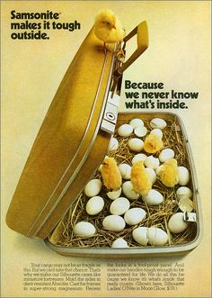 old-ads-and-mags:    How to Pack Up Chicks, 1973 by MewDeep on Flickr.