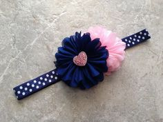 This item is unavailable Baby Girl Headbands, Newborn Headbands, Elastic Headbands, Crochet Headbands, Bandeau Rose, Tissue Paper Flowers, Baby Hair Bows, Making Hair Bows, Diy Bow