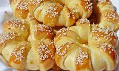 ~ Recepti i Ideje Web Design Quotes, Dessert Recipes, Desserts, Bagel, Macarons, Doughnut, Food And Drink, Bread, Snacks