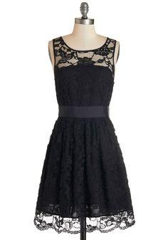 BB Dakota When the Night Comes Dress in Noir
