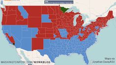 Data can be used in all sorts of interesting ways. Check out this great map from ASU alumnus Jonathan Davis depicting political shifts over the past 100 years.
