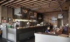 ballard pizza company interior architecture by atelier drome