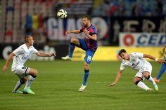 Steaua București a învins pe Gaz Metan Mediaș cu scorul de 3-1 (1-0), vineri, pe stadionul ''Steaua'', într-un meci din etapa a 7-a a Ligii I de fotbal.