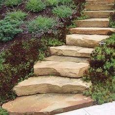 How to Make Steps in a Garden Walk #stepbystep