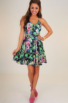 Love Grows Wild Dress: Multi - Use the promo code HOLLIREP to get 10% off of EVERY plus get FREE SHIPPING always!