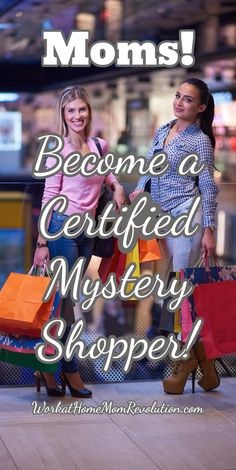 Moms! Become a Certified Mystery Shopper! Become a certified mystery shopper with ShadowShopper! ShadowShopper has relationships with thousands of mystery shopping companies, so they can connect you with mystery shops in your own hometown or city! Super way to make money from home! #Workfromhome #MakeMoney WorkatHomeMomRevo...