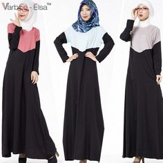 2016 New Muslim abaya Islamic clothing for women dubai hijab dress turkish cloth. 2016 New Muslim abaya Islamic clothing for women dubai hijab dress turkish clothes jilbabs and abay Outfit Essentials, Muslim Dress, Hijab Dress, Best Casual Dresses, Hijab Stile, Cute Work Outfits, Islamic Clothing, Abaya Fashion, Professional Outfits
