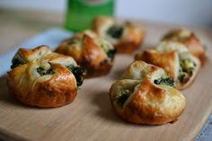 Heart of Gold: Spinach & Feta Puffs {I HAVE MOVED TO ROSE & IVY JOURNAL!}