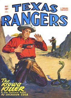 Texas Rangers [1947-10] cover
