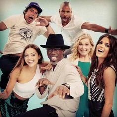 The 100 Cast ✨ Bob Morley Ricky Whittle Lindsey Morgan Isaiah Washington Eliza Taylor Marie Avgeropoulos