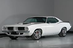 Plymouth Barracuda Resto-Mod - 1972. Find parts for this classic beauty at http://restorationpartssource.com/store/