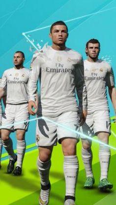 Benzema,Cristiano,Bale at FIFA16