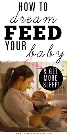 Tips for how to dream feed your baby step by step. All the pros and cons for introducing a dream feed and how it can help exhausted parents to get more sleep at night #babysleeptips #babysleep Breastfeeding After C Section, Breastfeeding Benefits, Breastfeeding In Public, Breastfeeding Positions, Breastfeeding Problems, How To Breastfeed Newborns, Dream Feed, Newborn Baby Tips, Breastmilk Storage